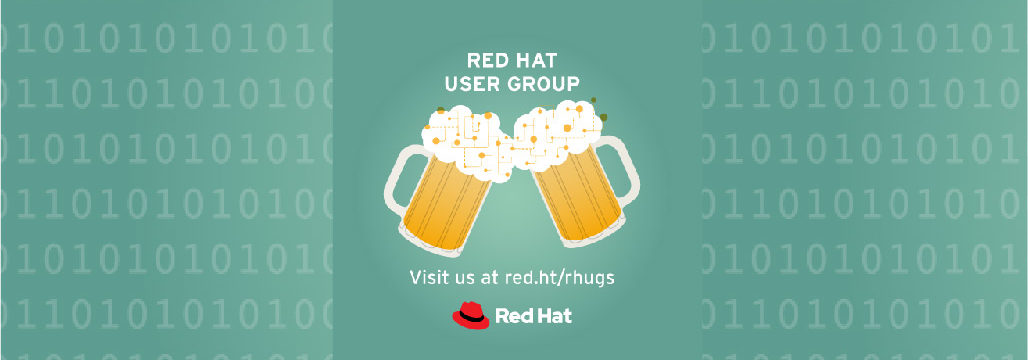 Red Hat User Group - visit us at red.ht/rhugs